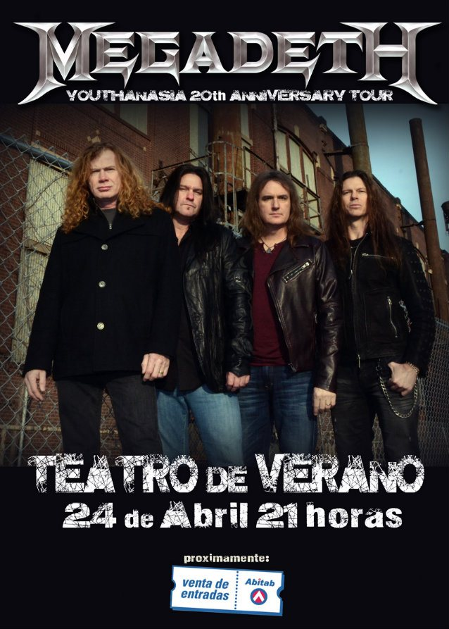 Megadeth-Youthanasia-Tour