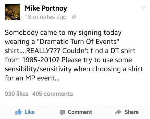 Mike-Portnoy-Dramatic-Turn-of-Events-FB-Post