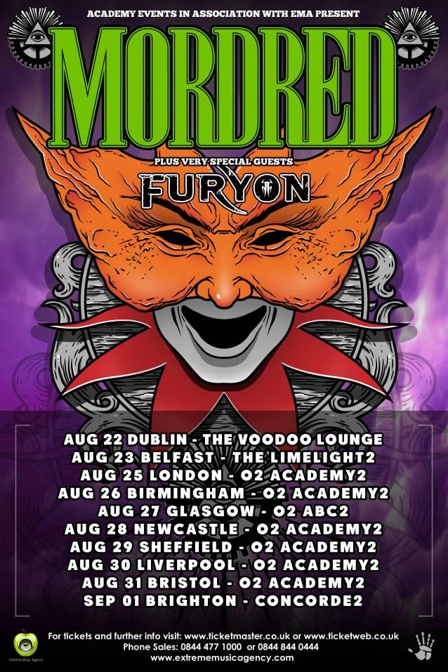 mordred-uk-tour