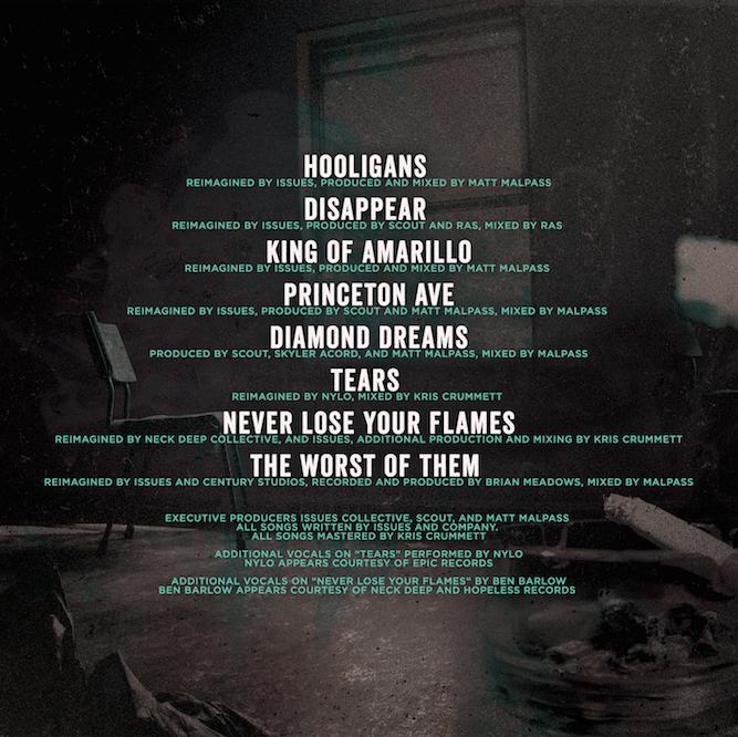 issues-diamond-dreams-tracklists