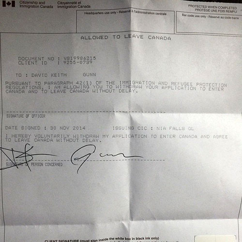 King_810_allowed_to_leave_Canada_notice