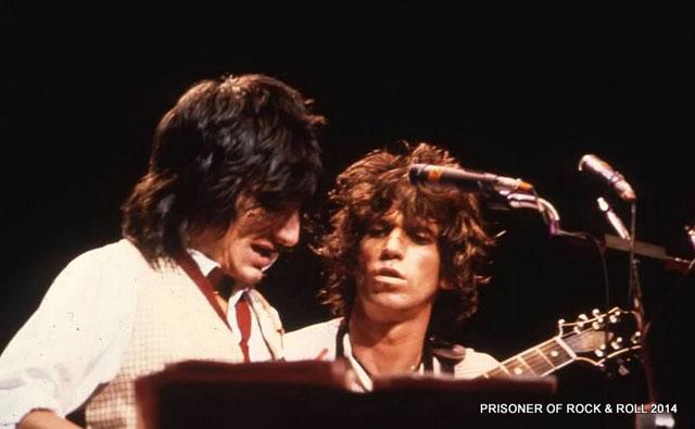 Keith Richards & Ron Wood