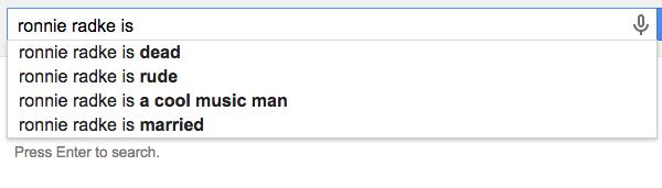 Ronnie-Google
