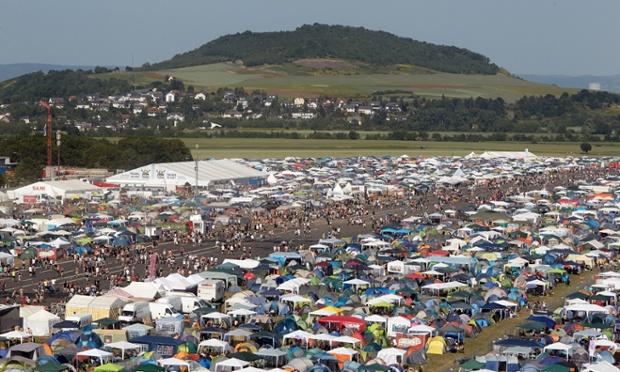 Music festival 'Rock am Ring'